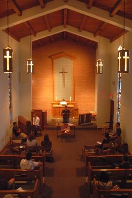 simple church 5 p.m. chapel service