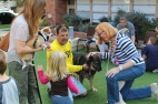 BlessiBlessing of the Animals in the courtyard.ng of the Animals