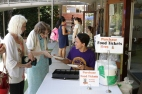 Youth, Owen Ing, running the tickets table during Fall Kick Off