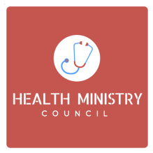 Health Ministry square logo red