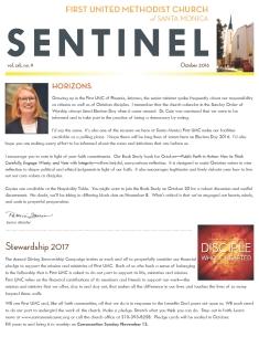 May Sentinel 2016