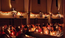 Christmas Eve Candlelight Service.