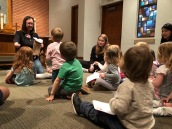Messy Church Family Service on the 2nd Saturdays at 4:30 p.m.