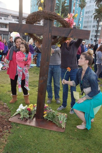Sunrise Service at Palisades Park (Ocean Ave. & Santa Monica Blvd.) Bring fresh flowers for the cross.